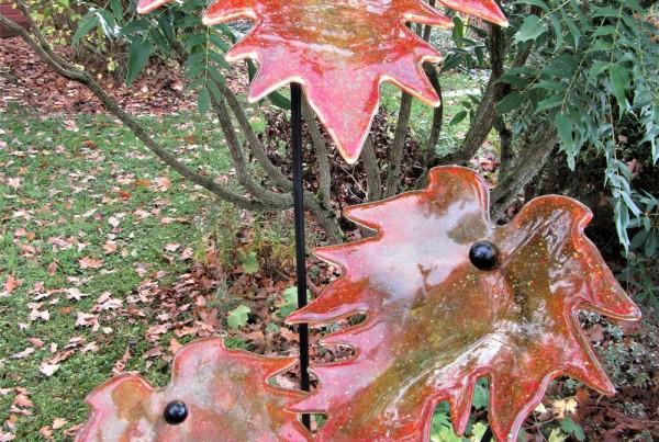 Amber Autumn Leaves (c)