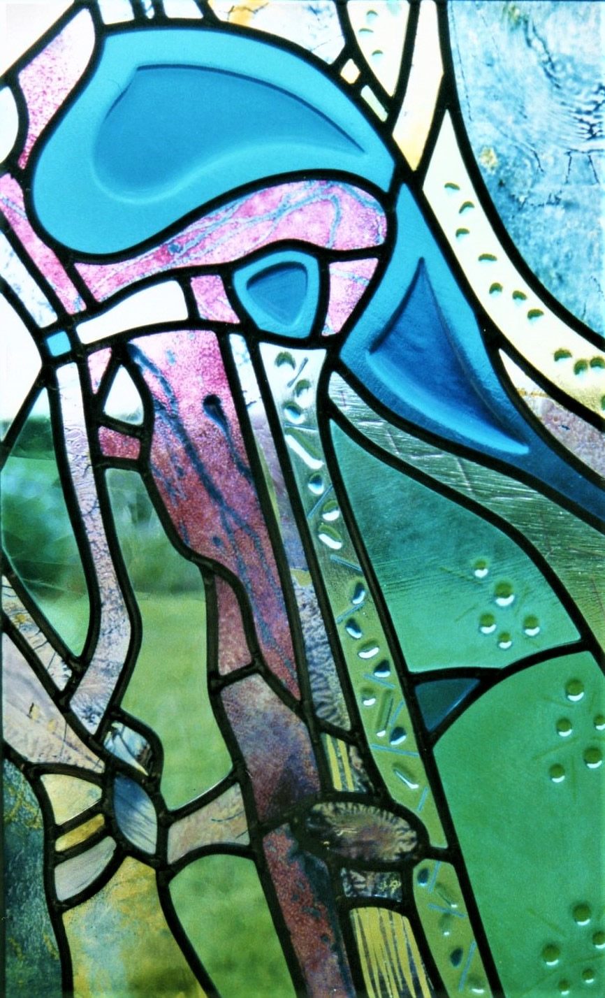 abstract leaded panel
