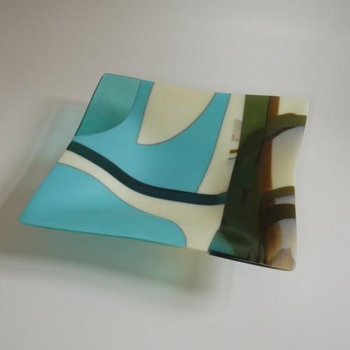 turquoise & vanilla bowl 3